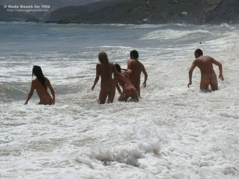 Нудисты Пляж Фильм