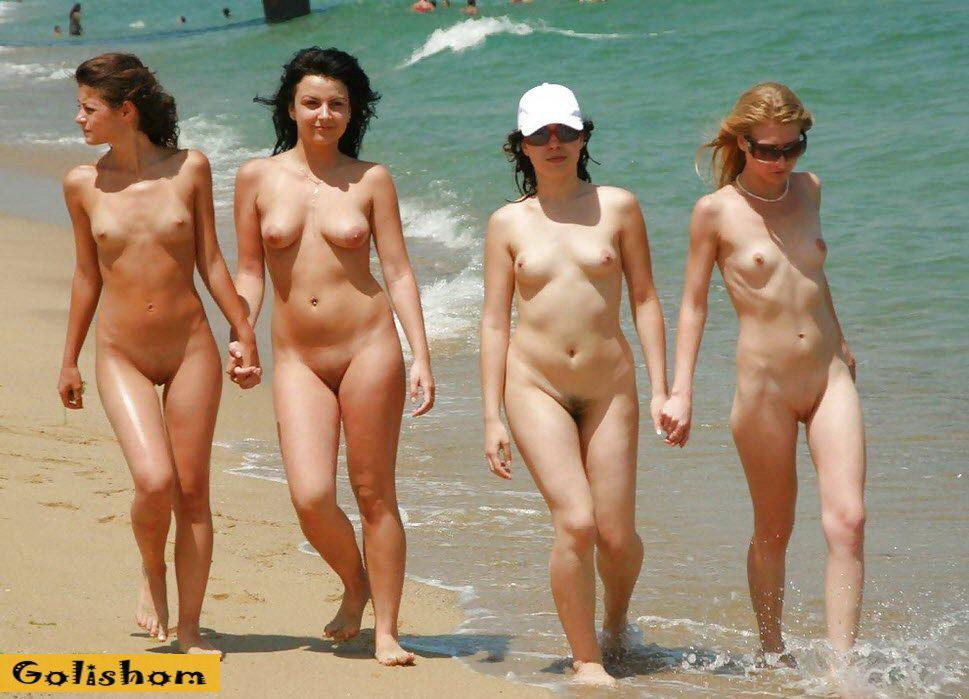 Голышом На Нудистском Пляже - Нудизм И Натуризм
